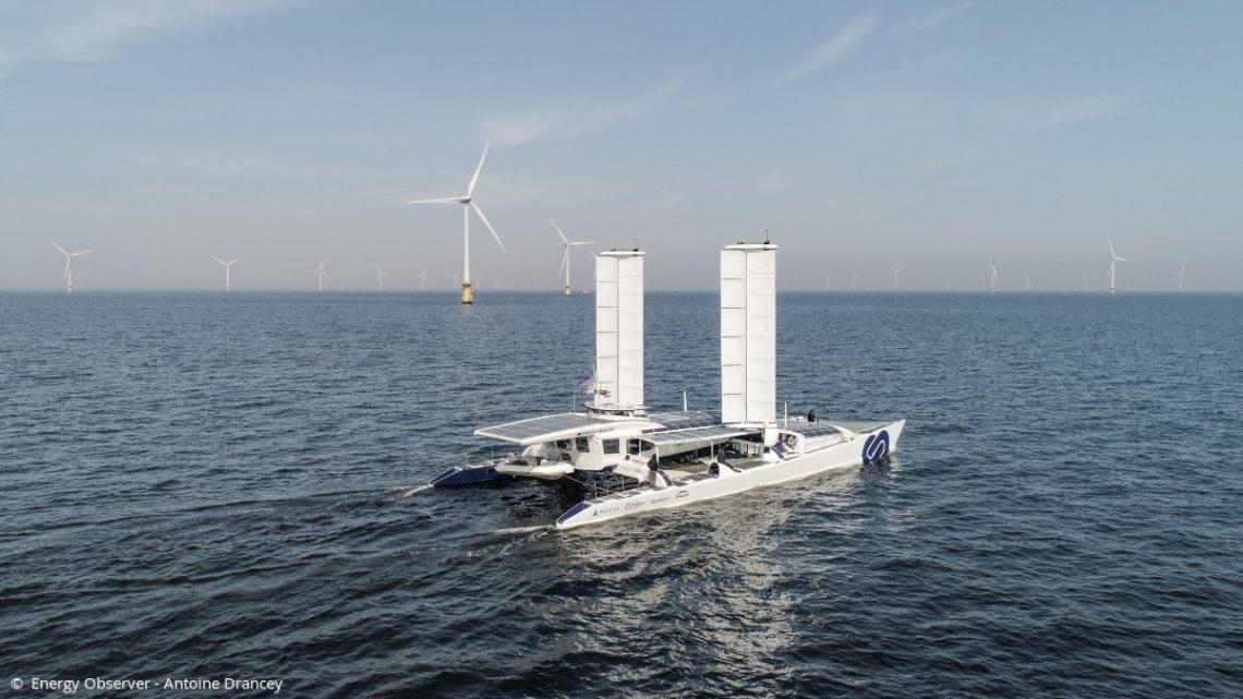 Energy Observer : le bateau-laboratoire des énergies du futur pour un transport maritime zéro émission