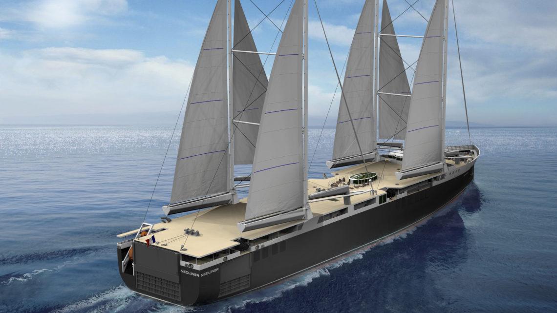 Neoline : le transport maritime à voile à grande échelle est lancé !