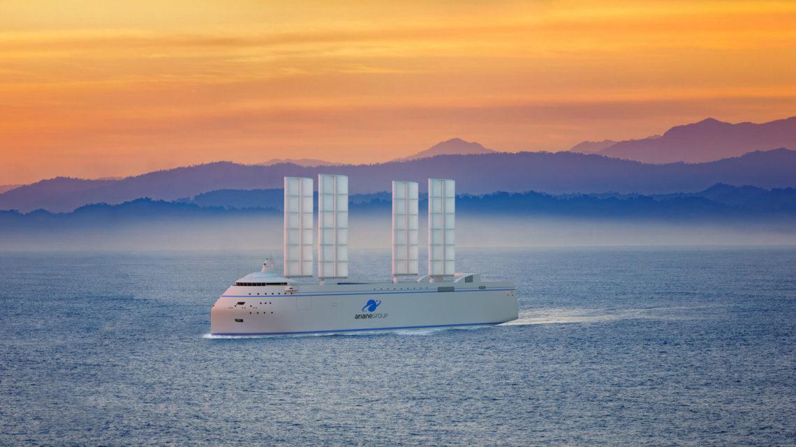 Zéphyr & Borée : le transport maritime bas carbone des temps modernes pour transporter des fusées !