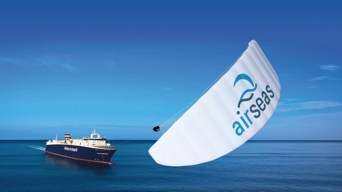 Airseas : le transport maritime avec des ailes de kite grâce au savoir-faire de l'aéronautique