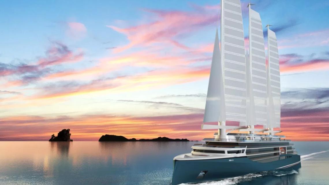 Solid Sail : la voile 100% composite pour propulser les paquebots de demain